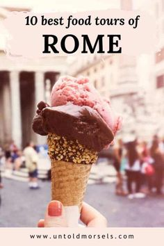 The most delicious Rome food tours and experiences as voted by us! Italy Travel Tips, Rome Travel, Travel Destinations, Travel Europe, Rome Food, Rome Itinerary, Eating Light, Restaurant Guide, Foodie Travel