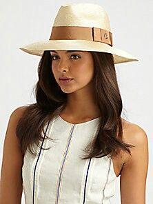 bd305668 Gucci Gros Grain-trimmed straw hat. Fashion Top, Womens Fashion, Hats For