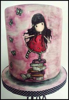 Time for Tiffin cake by Elizabeth Lander