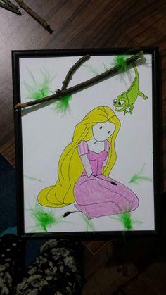 Rapunzel Rapunzel, Handmade, Hand Made, Craft, Tangled