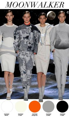"FW 14/15, women's active trend report, ""Moonwalker"""