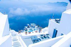 I love blue and white! Simply Santorini, Greece