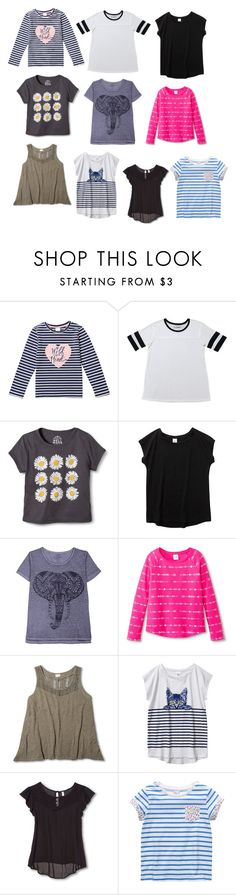 """Target shirt part 3"" by shafeeqa ❤ liked on Polyvore featuring Hybrid Tees, Circo, Target, Xhilaration and plus size clothing"