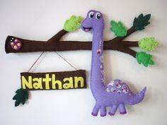 Maisie-Moo Handmade Felt Creations: Meet Dino... todays post