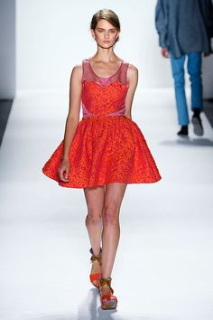 Short dress Timo Weiland Spring Summer 2012.‎