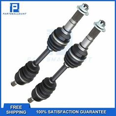 Pair of Front /& Right CV Joint Axles 2006-2010 Yamaha Wolverine 450 4x4 ATV