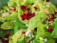 Cranberry-Almond Salad Videos | Food How to's and ideas | Martha Stewart