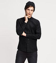 Hemd Regular Fit in der Farbe schwarz bei C&A