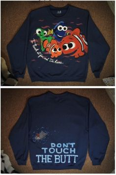 Funny pictures about The Perfect Finding Nemo Sweatshirt. Oh, and cool pics about The Perfect Finding Nemo Sweatshirt. Also, The Perfect Finding Nemo Sweatshirt photos. Disney Outfits, Cute Outfits, Disney Shirts, Disney Clothes, Disney Sweaters, Disneyland Outfits, Disney Sweatshirts, Lazy Outfits, Funny Shirts