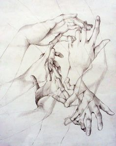 Image uploaded by svetline. Find images and videos about art, drawing and hands on We Heart It - the app to get lost in what you love. Body Drawing, Life Drawing, Figure Drawing, Drawing Sketches, Painting & Drawing, Art Drawings, Drawing Hands, Hand Kunst, Graphisches Design