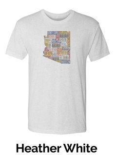 Men's Crew Neck T-Shirt - Arizona