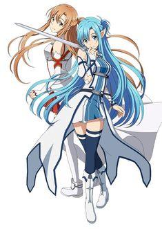 Asuna , 2 in 1 characters :P Manga Anime, Film Manga, Sao Anime, Arte Online, Online Art, Sword Art Online Wallpaper, Kirito Asuna, Sword Art Online Kirito, Accel World