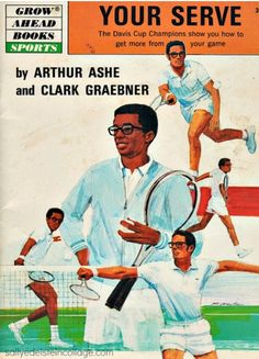 retro tennis, arthur ashe