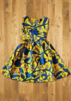 Mode Fillette, Tissu Africain, Robe En Pagne Africain, Robe Wax, Modèles  Enfant