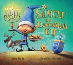 Shmelf is one of Santa's most important elves. He's part of the List Checking department, and he makes sure all the good boys and girls get their presents! But when Shmelf finds out that some children are missing from Santa's list, he goes to investigate.What Shmelf uncovers is Hanukkah, a wondrous and joyful holiday that Jewish families celebrate each year. As Shmelf observes a family lighting the menorah, playing dreidel, and hearing the Hanukkah story, he sees how special the traditions…