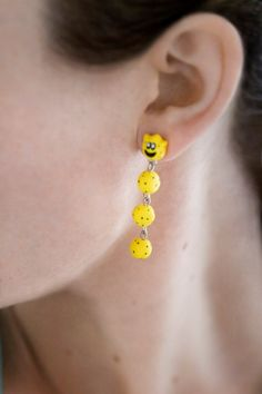 Nintendo Mario Cactus Dangle Earrings by lizglizz on Etsy, $23.00
