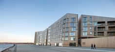 Designed as one of the largest wooden residential developments in Europe, the Waterfront (in Norwegian, 'Vannkanten') positions Stavanger as a pioneer city i...