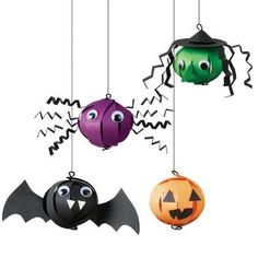 Halloween Bauble Ornaments Kit - This is a commercial site, but they would be super easy to make