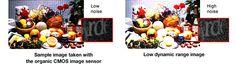 Fotos HDR – Super sensor HDR  Leo en la web de Fujifilm que estos, juntamente con Panasonic, desarrollan un sensor CMOS orgánico que podría llegar a casi 30EV de rango dinámico.