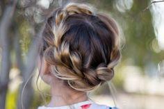 Pull Thru Crown Braid | Cute Girls Hairstyles