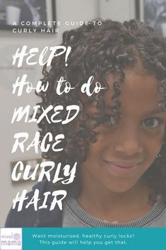 Simple Curly Mixed Race Hairstyles for Biracial Girls, - Nail Effect Mixed Race Hairstyles, Easy Hairstyles For Long Hair, Creative Hairstyles, Girl Hairstyles, Curly Hair Tips, Curly Hair Care, Curly Hair Styles, Natural Hair Styles, Natural Curls