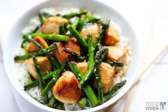 Chicken and Asparagus Recipe
