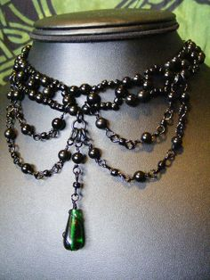 Victorian Choker, could easily be steaming.