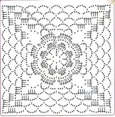 Схемы квадратных мотивов