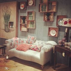 How did Anthropologie know how I wanted to decorate my livingroom?! #anthropologie #pintowin