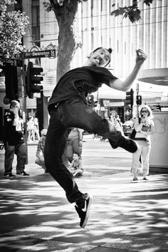 True passion and love for dance from the streets