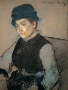 Edgar Degas Unhappy Nelly Pastel on paper