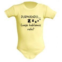 Bodies de bebés Graciosos - Durmiendo, luego hablamos vale?