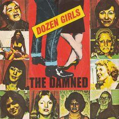 The Damned - Dozen Girls, vinyl, Bronze records, punk, new wave Vintage Magazines, Vintage Postcards, Peel Sessions, Vinyl Record Collection, Band Camp, The New Wave, Britpop, Post Punk, Punk Rock