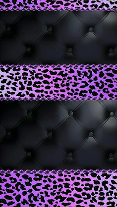 #purple #black #leopard #madebyniki