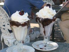 July 25 - National Hot Fudge Sundae Day | http://foodimentary.com/2012/07/25/july-25-national-hot-fudge-sundae-day/