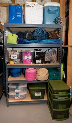 Storing everything together makes for easier & quicker packing and I'm not likely to forget anything.