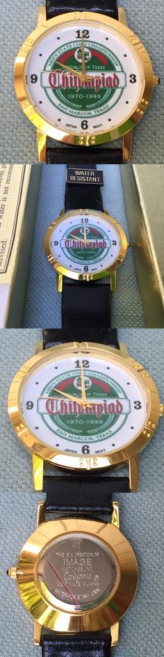 Other Mens Jewelry 177770: Vtg Republic Of Texas Chilympiad Chili State Cook-Off Watch San Marcos 1970 1999 -> BUY IT NOW ONLY: $43.7 on eBay!