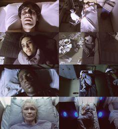 'Requiem for a Dream' Darren Aronofsky Series Movies, Film Movie, Movie Scene, Jennifer Connelly Requiem, Crying At Night, Requiem For A Dream, Darren Aronofsky, Best Cinematography, Film Inspiration