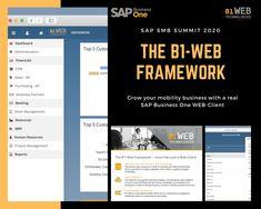 We make it happen - #B1-#WebClient für #SAPBusinessOne. B1-Web Technologie auf der #SAP #SMBSummit2020 in Palma de Mallorca.