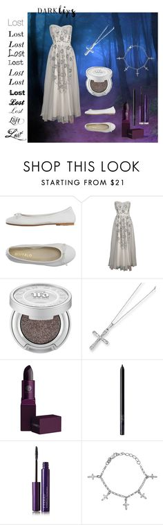 """Lost Lost Lost....."" by hermione-pond ❤ liked on Polyvore featuring beauty, DIENNEG, Urban Decay, Kevin Jewelers, Lipstick Queen, NARS Cosmetics, By Terry and darklips"