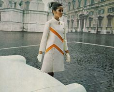 Ad in Vogue, 1969 - (vintage lady, the sixties, mod fashion)