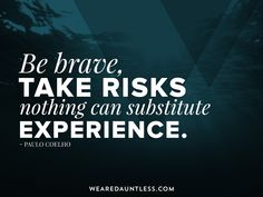 Be brave. #dauntless #designinspiration #webdesign #graphicdesign