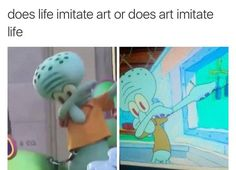 Squidward Dab | Know Your Meme