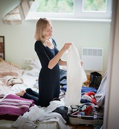 """10 Worst Packing Mistakes You're Making  Mistake: Choosing between shoes is like choosing between children, so you always bring way too many.  The Fix: """"No matter where you're going, you only need two to three pairs,"""" says Alexandra Jimenez, editor of Travel Fashion Girl. She suggests a pair of sturdy winter boots, comfy flats for walking around and one specialty pair, like nude heels if you have a formal event or trainers if you'll be doing outdoor activities."""