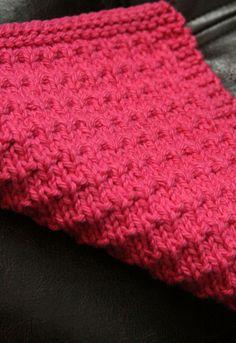 Knitting Pattern PDF Dishcloth Chelsea