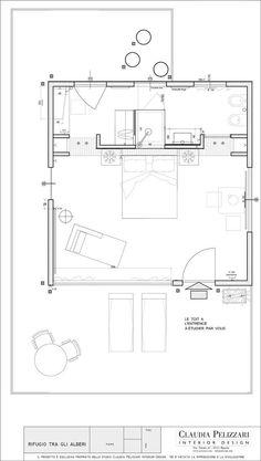 La Casa sull'Albero - Black Cabin, Arlena di Castro, 2010 - Claudia Pelizzari Interior Design