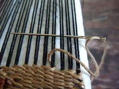 Freestyle Weaving Tutorial Part 5: Soumak weaving