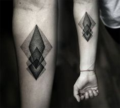 Geometric tattoo ideas