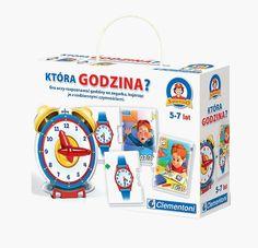 Gra - Która godzina? Nauka rozpoznawania godziny poprzez zabawę :)  #zabawki_edukacyjne #supermisiopl