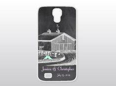 Barn Wedding Galaxy S4 Case  Samsung Galaxy by GoldenDaysDesigns, $18.00